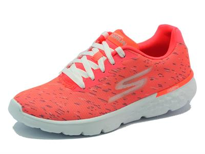 Skechers sportive per donna Go RUN 400 Instant colore hot pink