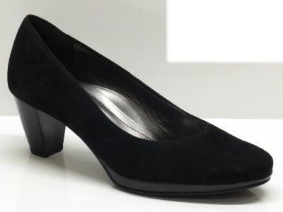 Articolo Décolleté Ara per donna in camoscio nero con plateaù