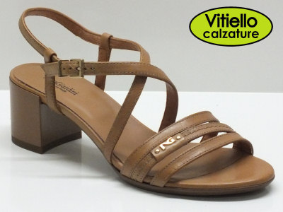 Sandali donna nero giardini pelle cuoio tacco comodo vitiello calzature vendita online - Scarpe eleganti da cerimonia nero giardini ...