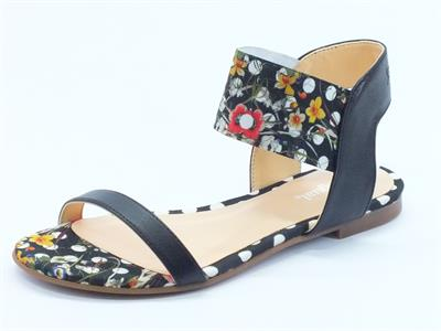 Sandali bassi Desigual per donna colore nero a poisse