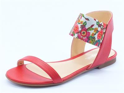 sandali bassi desigual per donna colore rosso - Sandale Colore