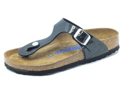 Articolo Sandali Birkenstock Magic Galaxy per donna nero con brillantini