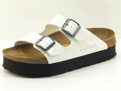 Sandali Papillio by Birkestock per donna modello Arizona bianco