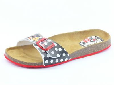 Sandali per donna Desigual neri con calzata ergonomica
