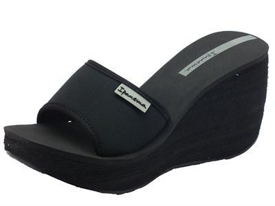 Sandali per donna Ipanema in tessuto nero