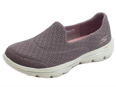 Articolo Skechers Go Walk Evolution Ultra Persist mocassini sportivi donna viola
