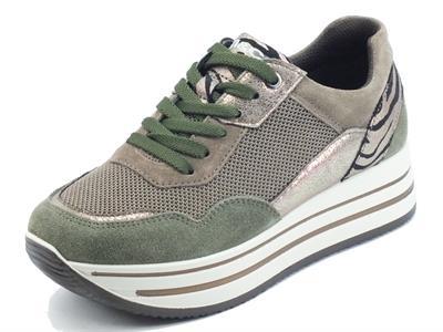 Articolo Igi&Co 8177433 Scamosciato Bosco Sneakers Donna in nabuk e tessuto