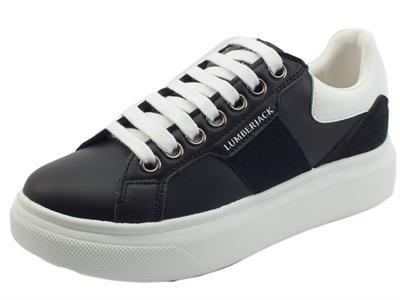 Articolo Lumberjack Juliette SWB6112 Black Sneakers Sportiva Donna in eco pelle nera