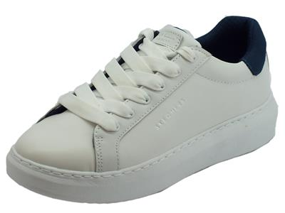 Articolo Skechers Los Angeles Hight Street Sneakers per donna bianco e blu