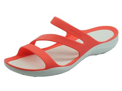 Crocs swift sandal fresco  Sandali Donna in gomma salmone