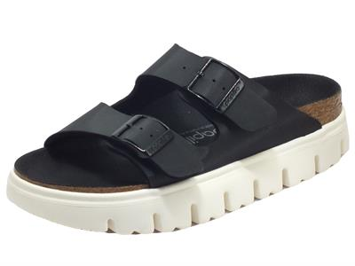 Papillio Arizona PAP Chunky Damasko Black Sandali per Donna zeppa media