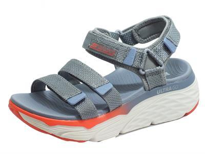 Articolo Skechers 140120/CCMT Max Cushioning Slay Char Multi Sandali Donna quadrula chiusura strappo