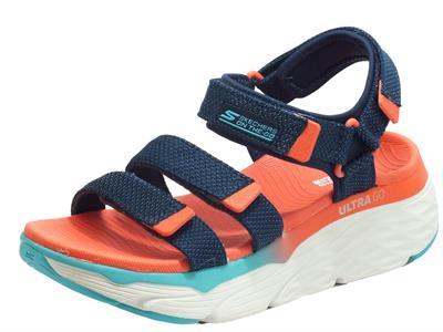 Articolo Skechers 140120/NVMT Max Cushioning Slay Navy Multi Sandali Donna quadrula chiusura strappo