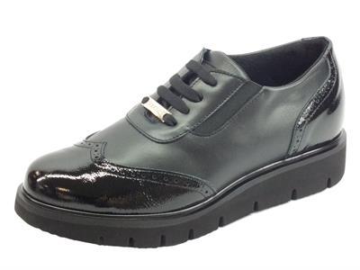 Articolo Sabatini S7008 Nero Sneakers confort Donna in pelle e vernice