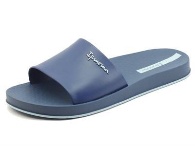 Articolo Ipanema 82832 Slide Unissex Blue Ciabatte per Uomo in caucciù blu