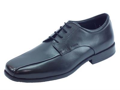 Articolo Geox U Calgary Black scarpe classiche uomo in pelle nera