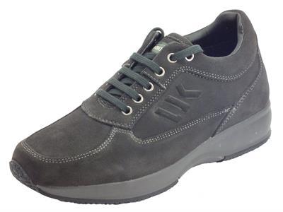 Articolo Lumberjack Raul SM01305-007 A01 CD004 Dk Grey Scarpe Uomo nabuk grigio scuro
