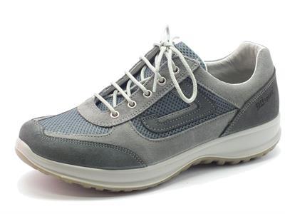 Scarpe Grisport Active per uomo in camoscio grigio