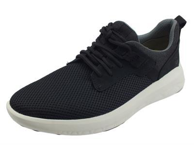 Articolo Timberland 0A2H8P Bradstreet Oxford Black Scarpe Sneakers per Uomo in tessuto
