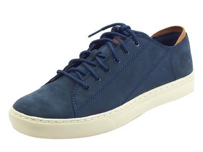 Articolo Timberland Adventure 2.0 Oxford Navy Nubuk Sneakers per Uomo in nabuk blu scuro
