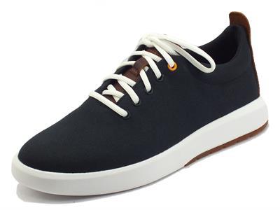 Articolo Timberland Truecloud Ek Sneaker Black Canvas Scarpe per Uomo in tessuto nero