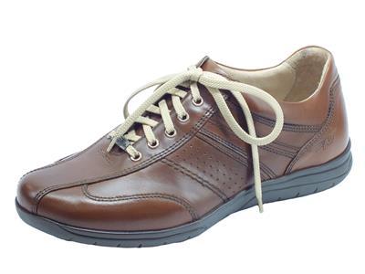 Articolo Zen Air 076821 Cuoio Scarpe per Uomo in pelle colore cuoio