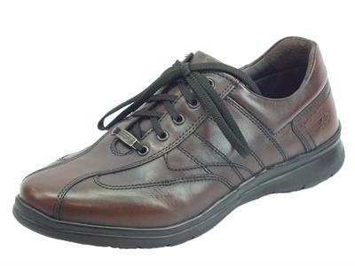Articolo Zen Air 976983 Toscano scarpa leggerissima per Uomo in pelle marrone fondo flex air