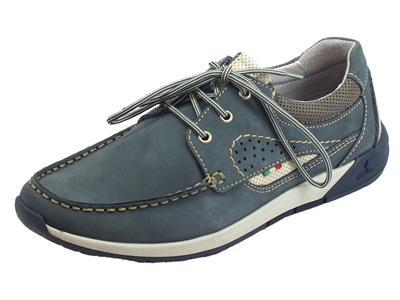 Articolo Zen Air Muflone Azzurro scarpe in scamosciato azzurro interni in pelle