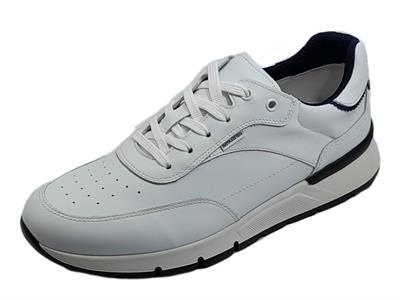 Articolo NeroGiardini E101992U Oakland Bianco Sneakers sportive per Uomo in pelle bianca