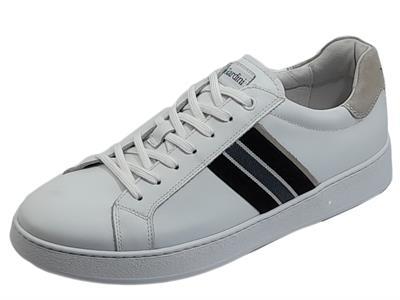 Articolo NeroGiardini E102010U Oakland Bianco Sneakers sportive per Uomo in pelle
