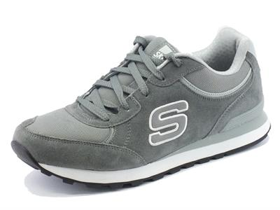 Articolo Scarpe Skechers Original per uomo in camoscio grigio