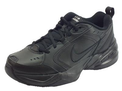 Articolo Scarpe sportive Nike Air Monarch IV per uomo in pelle nera