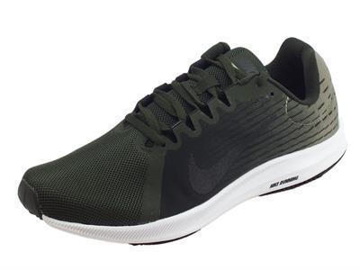 Articolo Scarpe sportive Nike DownShifter 8 per uomo in tessuto verde scuro