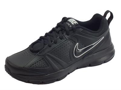 Scarpe sportive Nike T-Lite XI per uomo in pelle nera