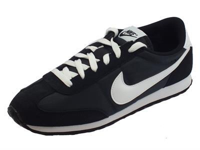 Articolo Scarpe sportive per uomo Nike mach runner camoscio e tessuto nero