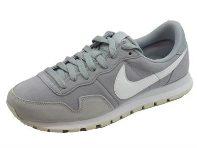 Articolo Scarpe sportive per uomo Nike air pegasus in camoscio grigio