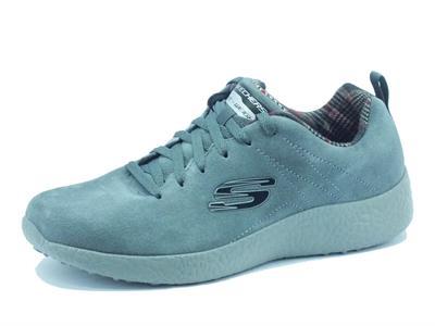 Articolo Scarpe sportive per uomo Skechers Sport Burst Koopy in camoscio grigio