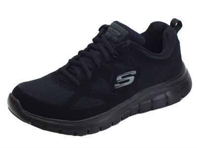 Articolo Scarpe sportive Skechers AGOURA per uomo in tessuto nero