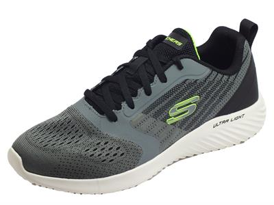 Skechers 232004/CCGY Bounder-Verkona Charcoal Gray Scarpe Sportive per Uomo con Air-Cooled