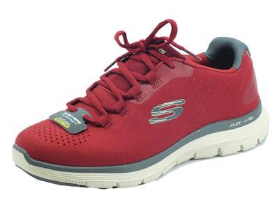 Articolo Skechers 232228 Overtake Red Scarpe Sportive per Uomo in tessuto