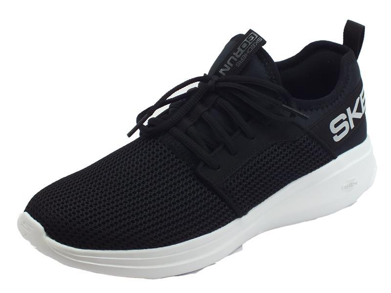 Skechers Go Run Fast Valor scarpe sportive uomo tessuto - Vitiello Calzature 146aebe1263