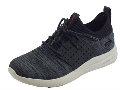 Articolo Skechers Matera Knocto scarpe sportive uomo tessuto nero