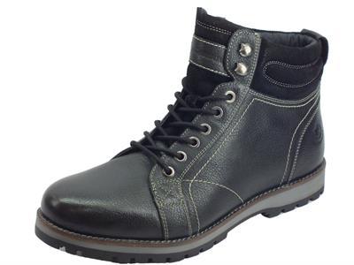 Articolo Lumberjack Roman SW33501-003 M52 CB001 Black Scarponcini Uomo pelle nera
