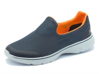 Articolo Mocassini Skechers GO-WALK 4 per uomo in tessuto grigio