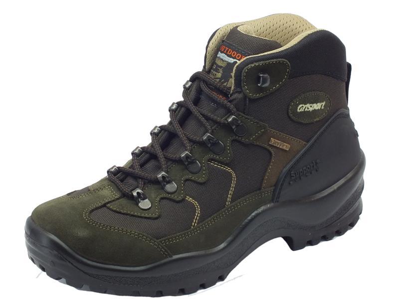Scarponcini da trekking uomo Grisport scamosciato verde - Vitiello Calzature e680acdcdd2