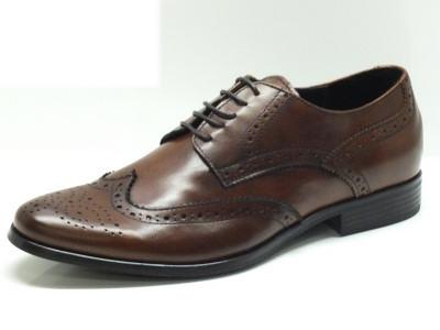 Articolo Scarpe classiche-eleganti per uomo in pelle marrone con monogramma