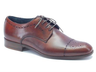 Articolo Scarpe classiche da uomo NicolaBenson in pelle marrone