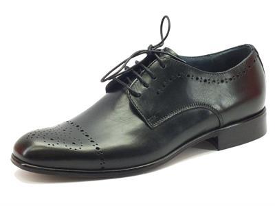 Scarpe classiche da uomo NicolaBenson in pelle nera