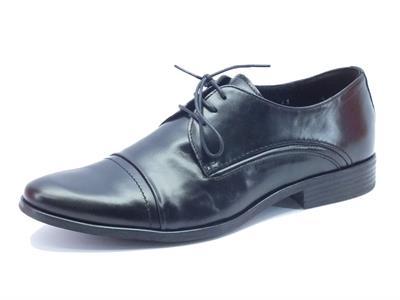 Scarpe da uomo NicolaBenson classiche in pelle nera