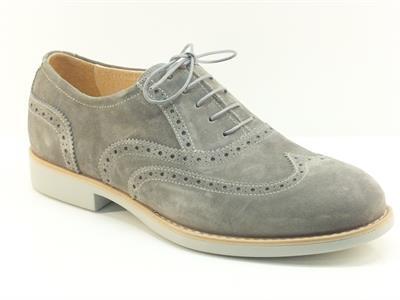 Scarpe modello duilio da uomo nero giardini in camoscio grigio vitiello calzature vendita - Scarpe eleganti da cerimonia nero giardini ...